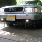 1995 1996 1997 1998 Audi A4 Fog Lamp Driving Light Kit Xenon Foglamps Foglights