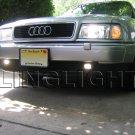 1995 1996 1997 1998 Audi A4 Fog Lamp Driving Light Kit Xenon Foglamps Foglights