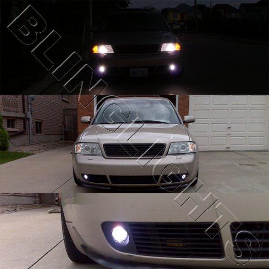 2001 2002 Audi A3 Xenon Fog Lights Bumper Driving Lamps Foglamps Foglights Kit