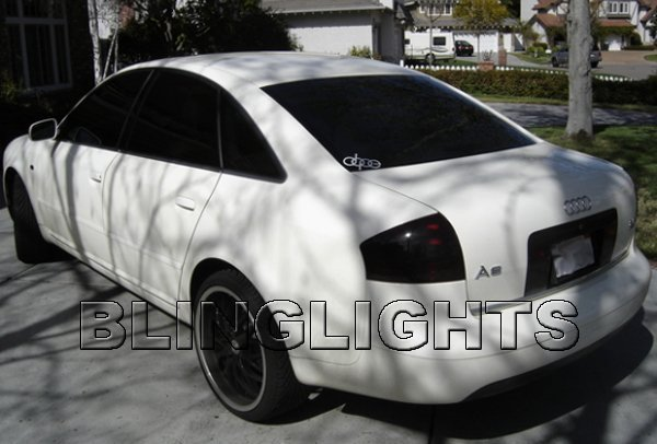 Audi A5 Tinted Tail Lamp Light Overlay Kit Smoked Film Taillights Protection