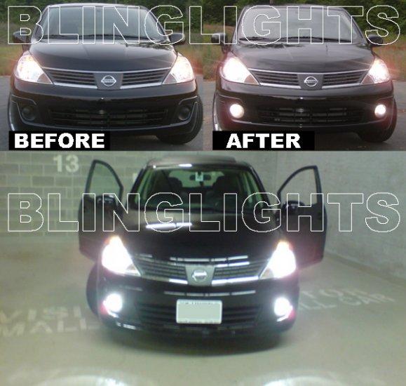 2007-2011 Nissan Versa Xenon Fog Lamps Driving Lights Kit