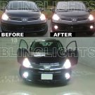 2007-2011 Nissan Versa Xenon Fog Lamps Driving Lights Kit