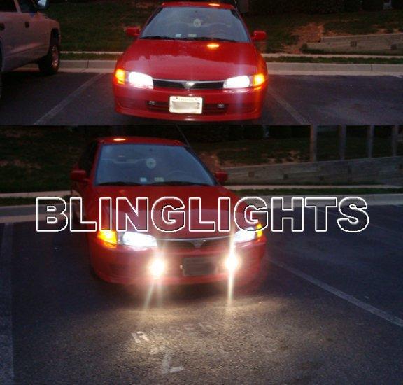 1997-2002 Mitsubishi Mirage Xenon Fog Lights Driving Lamps Kit 1998 1999 2000 2001