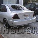 Mitsubishi Mirage Tinted Smoked Tail Lamp Light Overlay Kit mk5 Film Protection