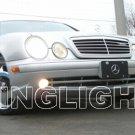 2000 2001 2002 Mercedes-Benz CLK55 AMG Xenon Fog Lights Driving Lamps Foglamps Kit clk 55