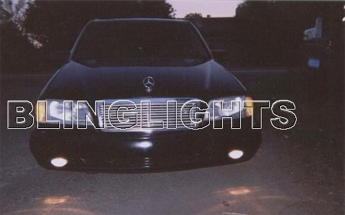 1998 1999 2000 Mercedes-Benz C200 Xenon Fog Lights Driving Lamps Foglamps Lamp Kit C 200 w202