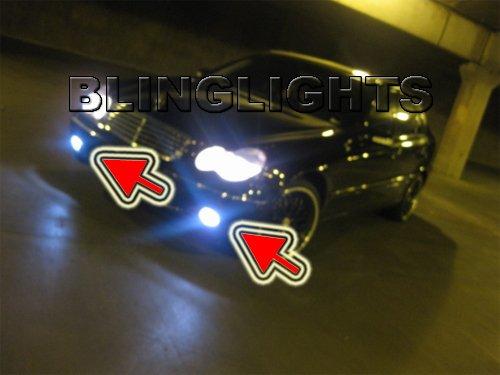 2005 2006 2007 Mercedes C280 Xenon Fog Lights Driving Lamps Foglights Foglamps Kit w203 C 280