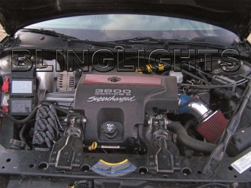 2004 2005 Chevy Monte Carlo SS Air Intake Kit Supercharged L67 3.8L V6 3800 Series II 2 3.8 L