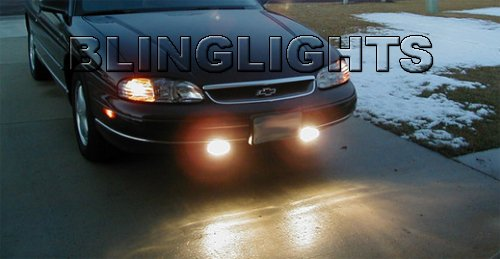 1995-1999 Chevy Monte Carlo LS Fog Lamp Light Kit Xenon Drivinglights