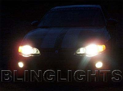 2000-2005 Chevy Monte Carlo Fog Lamp Driving Light Kit Xenon Foglamps