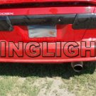 Nissan 200SX B14 Tinted Smoked Tail Lamp Light Overlays Film Protection