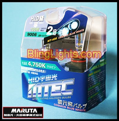 1997 1998 1999 Ford Escort ZX2 4750K Halogen Bulbs Headlights Headlamps Head Lights Lamps