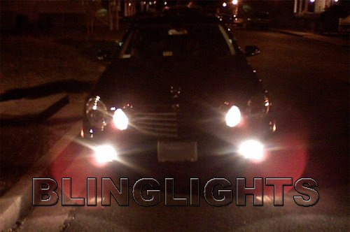 2007 2008 2009 Mercedes E63 AMG LED Fog Lights Driving Lamps Foglamps Foglights E 63 e-class w211