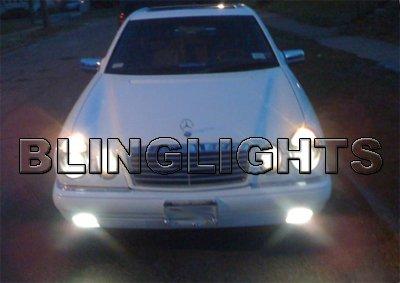 1996 1997 Mercedes-Benz E300 Xenon Fog Lights Driving Lamps Foglamps Kit E 300 Diesel E-Class w210