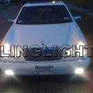 1998 1999 Mercedes-Benz E430 Fog Lights Driving Lamps Foglamps Foglights Kit E 430 E-Class w210
