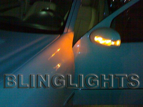 1998 1999 Mercedes-Benz E55 AMG Side Mirrors Turn Signals Turnsignals Lights Lamps E 55 w210 e-class