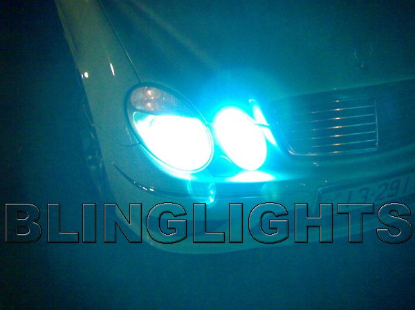 1998 1999 Mercedes E300 Turbodiesel OEM HID Headlights Bulbs Headlamps Head Lights Lamps E 300 w210