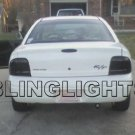 1995-1999 Plymouth Neon Tinted Smoked Tail Lamps Lights Overlays Film Protection