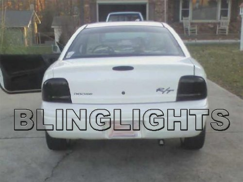 1995-1999 Chrysler Neon Smoke Tint Taillamps Taillights Overlays Film Protection