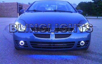 2003 Chrysler Neon R/T RT Fog Angel Eyes Lamps Halos Driving Lights Kit