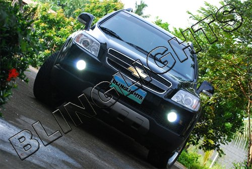 2007 2008 2009 2010 Chevrolet Captiva LS LT LTX Xenon Fog Lights Driving Lamps Kit Chevy