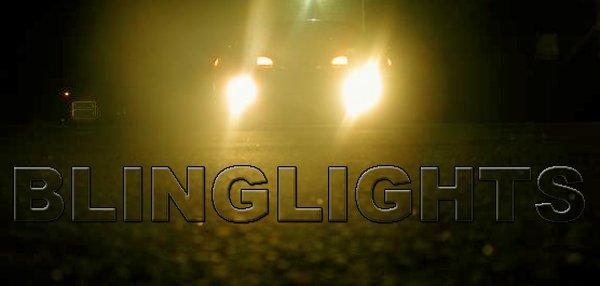 1992 1993 1994 Mitsubishi Eclipse Yellow Foglamps Gold Foglights Fog Lamps Driving Lights