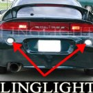 1995-1999 Mitsubishi Eclipse Rear Bumper Light Lamp Kit