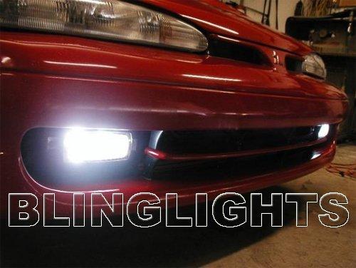 1992 1993 1994 Eagle Talon DSM Xenon Fog Lights Driving Lamps Kit