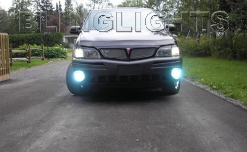 1998 1999 2000 2001 2002 2003 2004 2005 Pontiac Montana Xenon Fog Lights Driving Lamps kit sv6