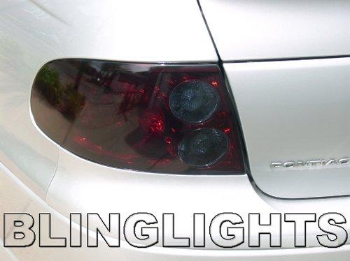 2004 2005 2006 Pontiac GTO Tinted Smoked Taillamps Taillights Protection Overlays Film