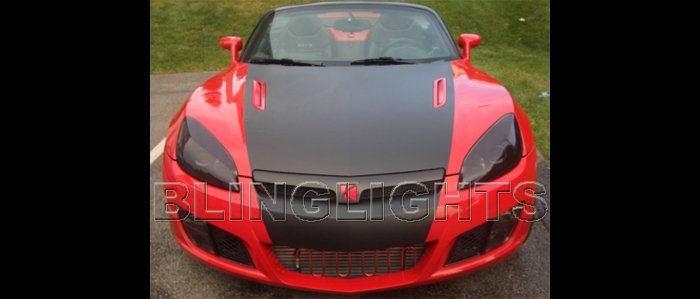 2007 2008 2009 Saturn Sky Tint Protection Film for Smoked Headlamps Headlights Head Lamps Lights