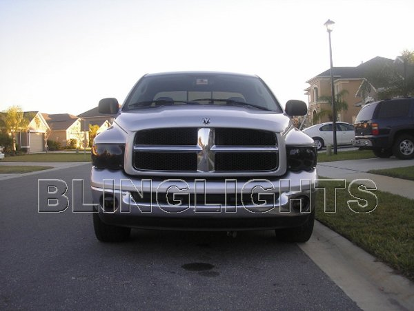 2006 2007 2008 Dodge Ram Tint Protection Film for Smoked Headlamps Headlights Head Lamps Lights