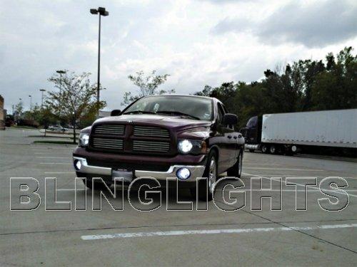 2002-2005 Dodge Ram Bright White Head Lamps Light Bulbs Pair