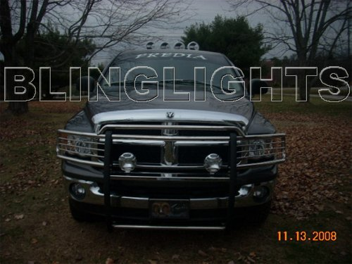 Dodge Ram 3500 Off Road Bumper Light Bar Driving Lamps Auxilliary Kit