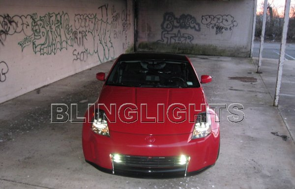 Nissan 350Z Xenon Grille Driving Lights Fog Lamps Kit
