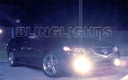 2004 2005 2006 2007 2008 Acura TSX Xenon Fog Lamps Driving Lights Kit JDM