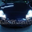 Porsche Boxster 986 White Bulbs Headlamps Headlights 1997 1998 1999 2000 2001 2002 2003 2004