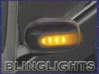 1997 1998 1999 2000 2001 Infiniti Q45 LED Side Mirrors Turnsignals Turn Signals Lights Lamps View