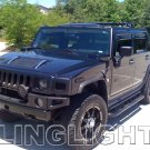 2002 2003 2004 2005 2006 2007 2008 2009 Hummer H2 Tint Protection Film for Smoked Headlamps Overlays