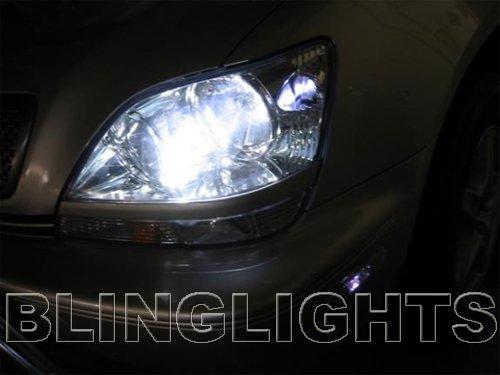 1998 1999 2000 2001 2002 2003 Lexus RX300 White Bulbs Headlamps Headlights Head Lamps Lights RX 300