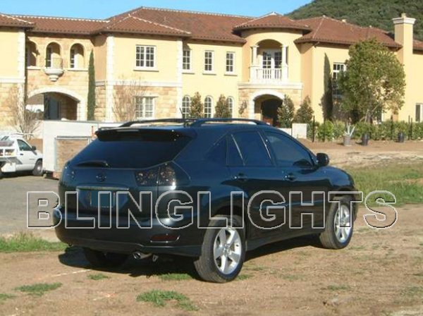 2004-2009 Lexus RX RX330 RX350 RX400h Tinted Smoked Protection Overlays for Taillamps Taillights