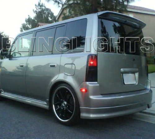 2004 2005 2006 2007 Scion xB Tint Smoke Overlays Film for Taillamps Taillights Tail Lamps Lights