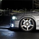 1995 1996 1997 1998 1999 BMW E36 M3 White Bulbs Headlamps Headlights Head Lamps Lights