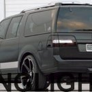 Lincoln Navigator Tinted Tail Lamp Light Overlay Kit Smoked Film Protection