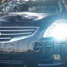 2010 2011 Nissan Altima Bright White Light Bulbs for Halogen Headlamps Headlights Head Lamps Lights