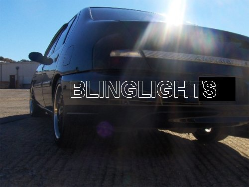 1998 1999 2000 2001 Nissan Altima Tinted Taillamp Film Covers Taillight Overlays