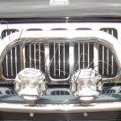 Jeep Liberty KJ KK Chrome Off Road Auxiliary Driving Lights Bumper Lamp Bar Trail Lamps Lighting