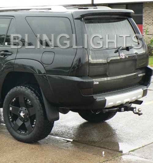 2003-2005 Toyota 4Runner Tint Smoke Taillamp Taillights Overlays Film Protection