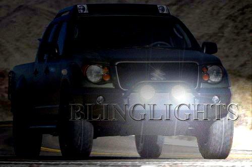 Suzuki Equator Off Road Bumper Bar Auxiliary Driving Lights