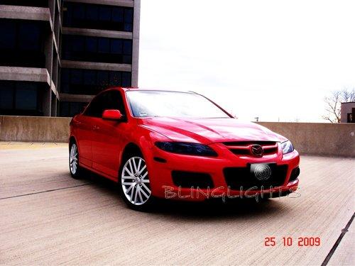 Mazda6 Mazda 6 Tint Protection Film for Smoked Headlamps Headlights Head Lamps Lights Overlays